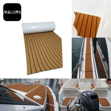 EVA Material Faux Teak Decking Sheet Boat Traction