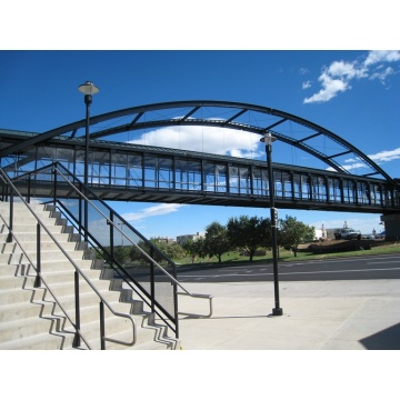 Low Price Metal Factory Steel Structure Pedestrian Bridge
