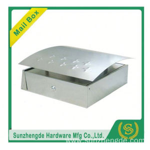 SMB-007SS Wholesales Novelty Outdoor Stainless Steel Free Standing Letter Box