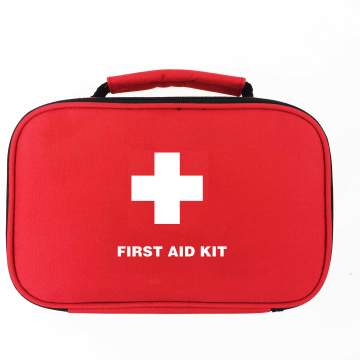 Red Color Emergency Travel First Aid Kit