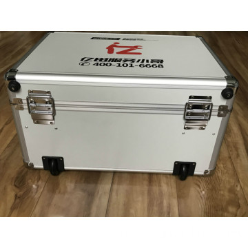 Aluminum Tool Case with Double Color Silk Printing