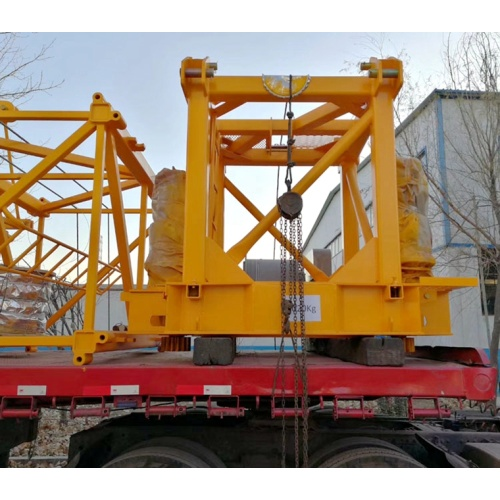 Top quality Construction machinery luffing jib tower crane