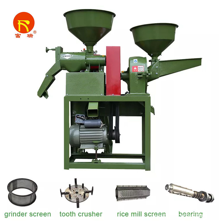Directly Combined Rice Mill Machine For Sale