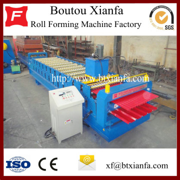 Aluminum Galvanized MetalRoofing Roll Forming Machine