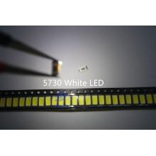 100pcs 5630/5730-CW/WW 0.5W-150Ma 50-55lm 6500K White Light SMD 5730 5630 LED 5730 diodes (3.2~3.4V)