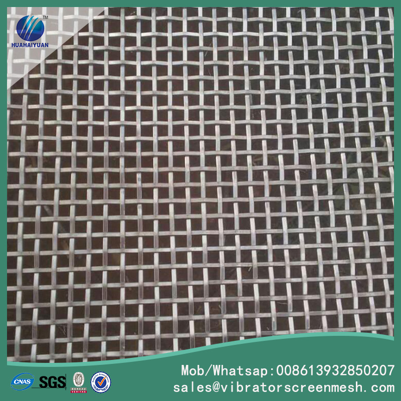 Flat Wire Woven Wire Mesh
