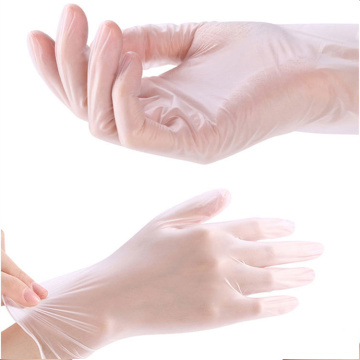 Disposable Clear Vinyl Examination Gloves