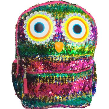 OWL SEQUIN BACKPACK -0