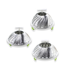 Stainless Steel Collapsible Vegetable Steamer Basket