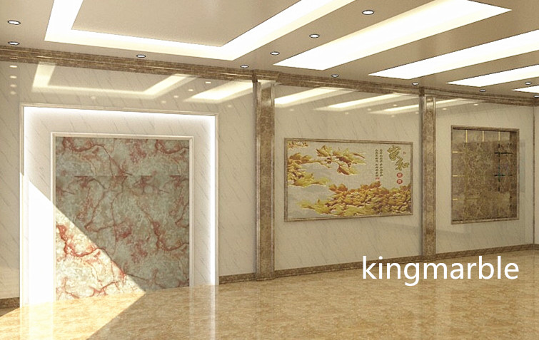 Interior artificial PVC Marbling Sheets