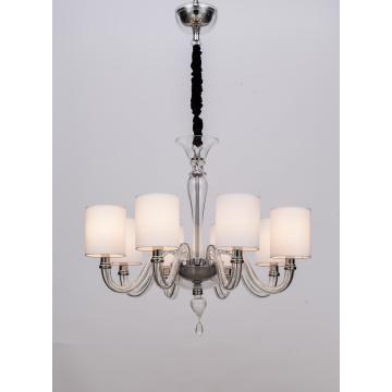 With Lamp Shade Modern Living Room Classic Chandelier