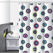 Letter P Waterproof Bathroom printed Shower Curtain