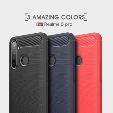 Flexible Soft TPU Scratch Resistant for OPPO Realme5Pro