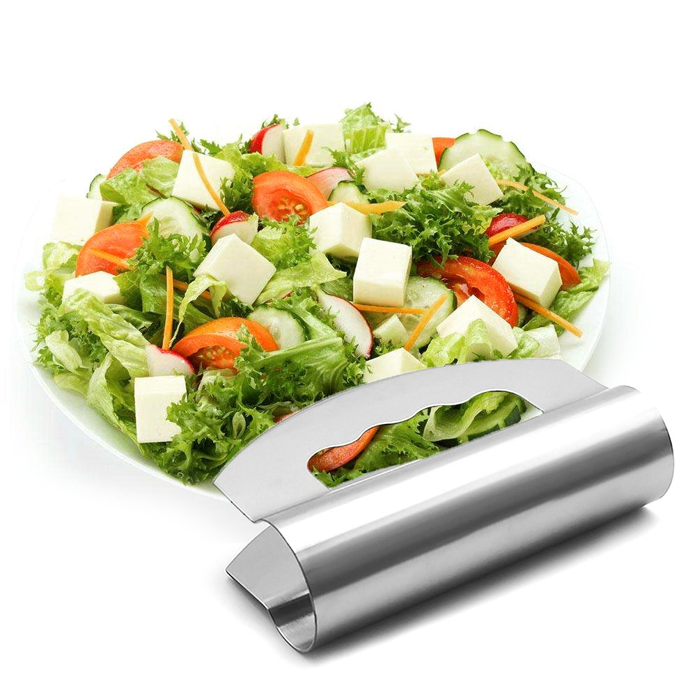 stainless steel herb chopper