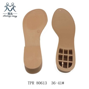 Rubber Color TPR Outsole
