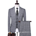 Slim Fit Customized Latest Design Coat Pant Men Suits