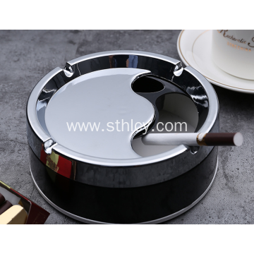 Circular ashtray creative fashion European style