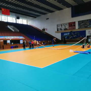 PVC Indoor Volleyball floor with ITF certificate