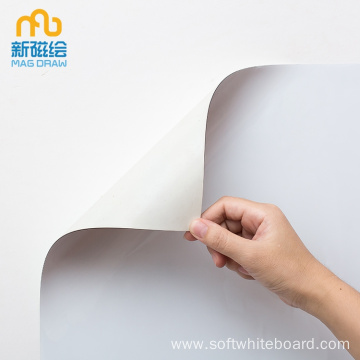Reusable Adhesive Magnetic Whiteboard Sheet