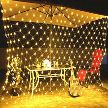 LED Net Mesh Fairy String Hiasan Lampu