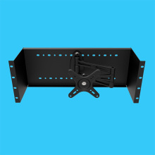 Network cabinets display mounting bracket / Industrial control monitor LED display telescopic boom