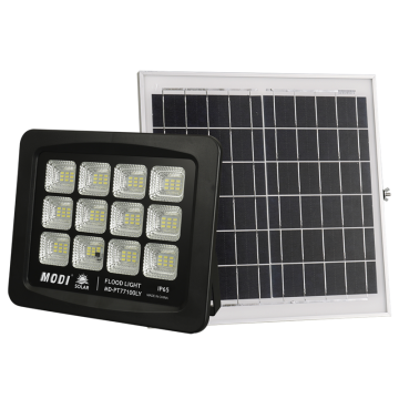 solar flood light with switch