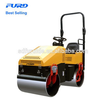 1 Ton Capacity Double Drum Vibratory Road Roller Fyl-890 1 Ton Capacity Double Drum Vibratory Road Roller FYL-890