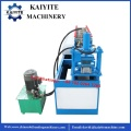 Steel Garage Door Lath Roll Forming Machine