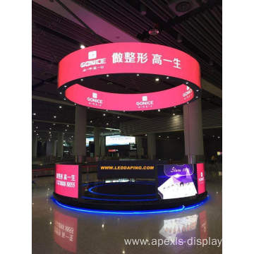 P4 flexible led screen