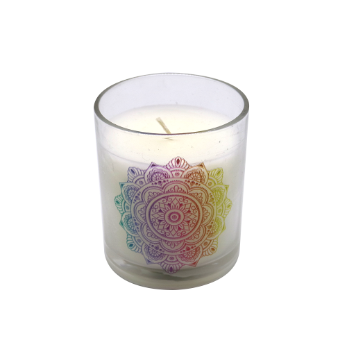2018 New Handmade Glass Candles with Scented
