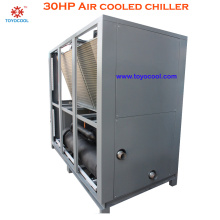air cooled chiller approach temperature