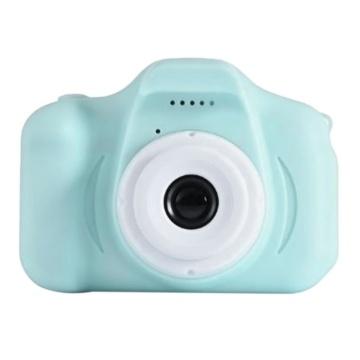 Toy Children Motion Camera Kids Camera 2 Inch Screen Hd Children Camera Cartoon Digital Mini Video Camcorder,Blue