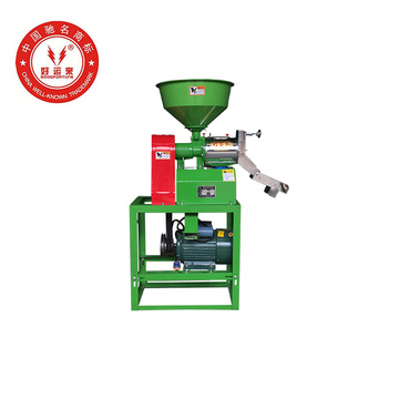 220V Mini Electric Rice Milling Processing Machine