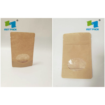 Stand Up Pouch With Window For Dried Food