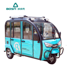 Enclosed Tricycle Electric Passenger Tricycle
