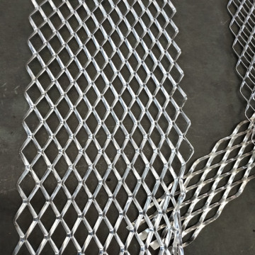 4mm Thickness Galvanized Expanded Metal Mesh