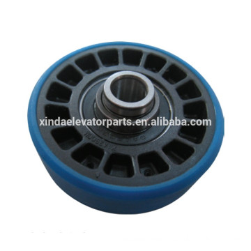 Step wheel 76.2x21.6 bearing 6203/6004 for escalator spare part