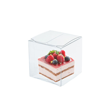 Gift Clear PET PVC Transparent Plastic Box