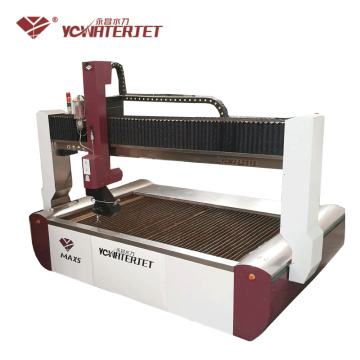 Industrial CNC waterjet cutting equipment