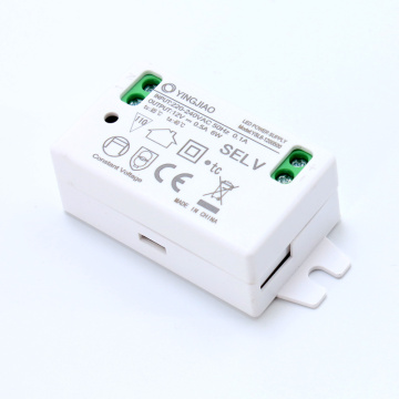 3-6W 9 Volt DC Mini LED-drivrutin