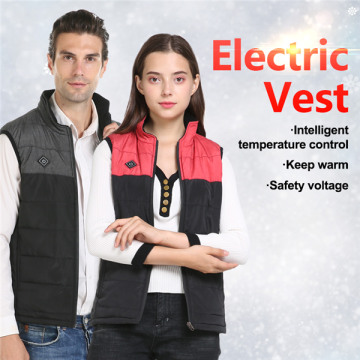 USB Powered Buttery Heated Vest Adult