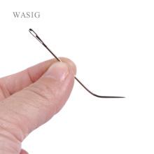 50pcs J TYPE Weaving Needle Hook /Sewing Needles For Human Hair Extension Hair weaving Knitting Tools