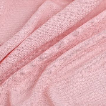 Whoselase Soft Touch Linen knitted Jersey Fabric