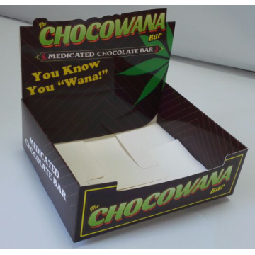 Custom chocolate display packaging box