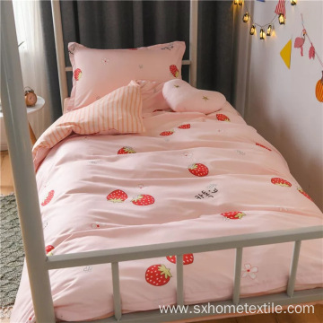 quilt cover set with cute design