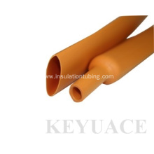 Oil Resistant Orange PE Heat Shrink Tube