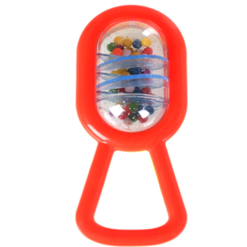 Musical infant safety bell ring toy Shaking Rattle