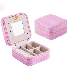 PU portable display cases jewelry gift box
