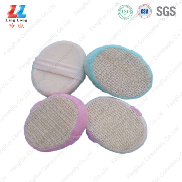 Loofah durable foam bath sponge