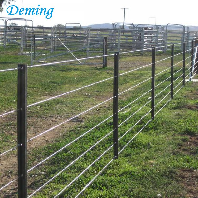Metal Used Electric Fence T-post